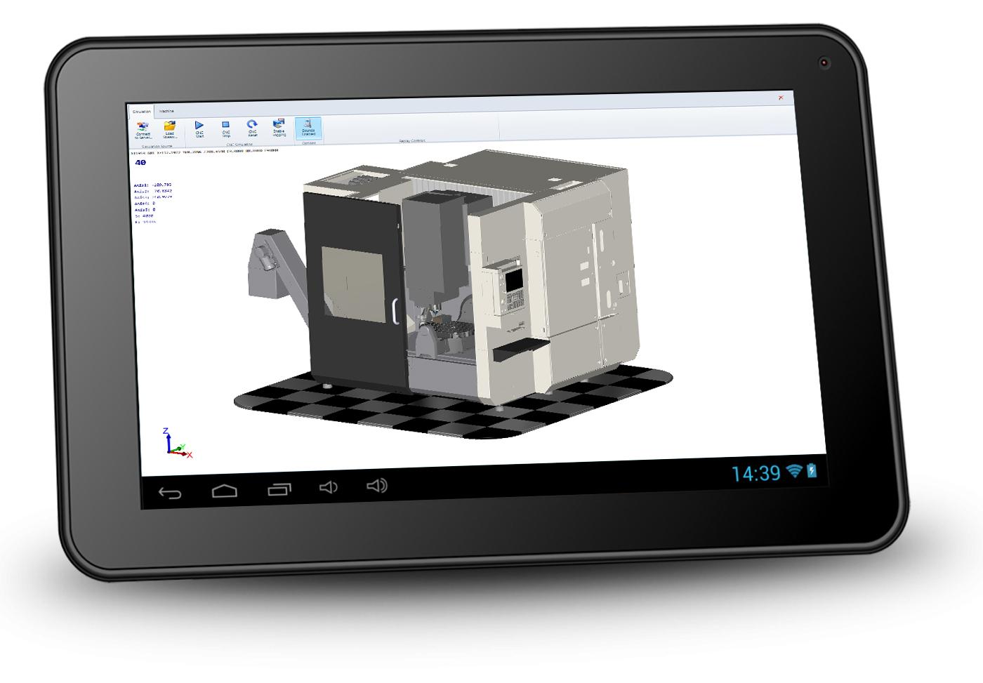 CNC Sim Tablet