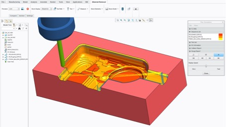 Ptc and moduleworks develop integrated simulation for ptc - Creo projects ...