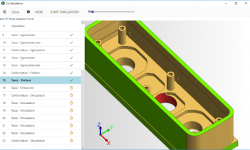 cutting simulation component integrated in eCan