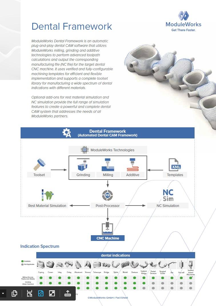 ModuleWorks_Dental_Framework_Fact_Sheet
