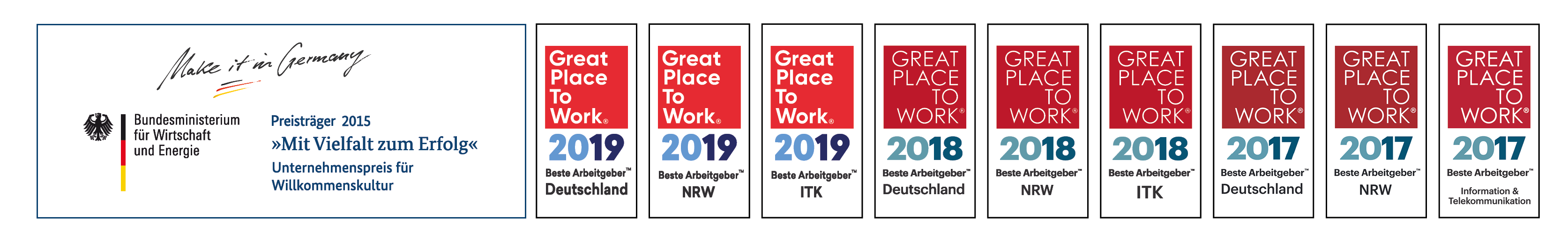 Great Place To Work Banner 2019