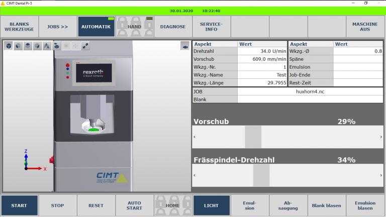 CIMT Dental interface