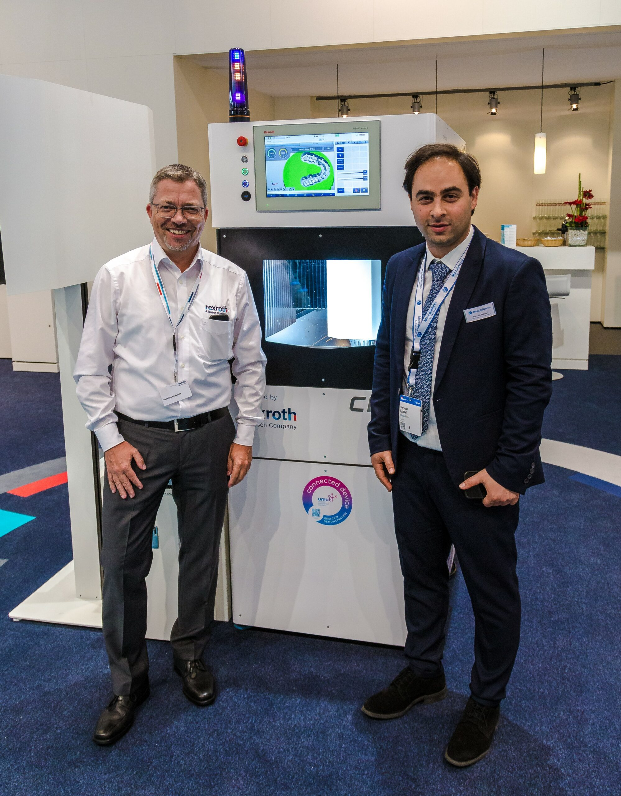 Dr. Karsten Kreusch and Soroosh Eghbali