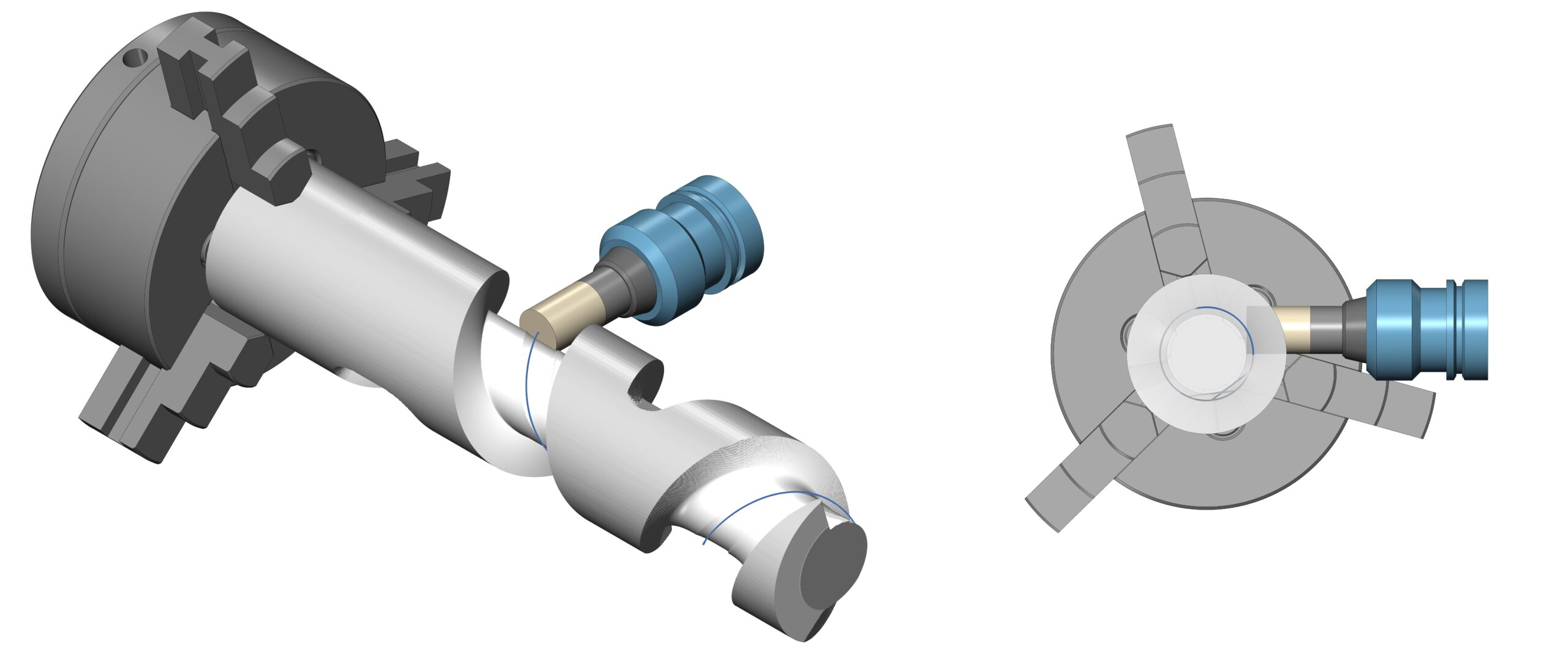 axis offset for roughing cycles