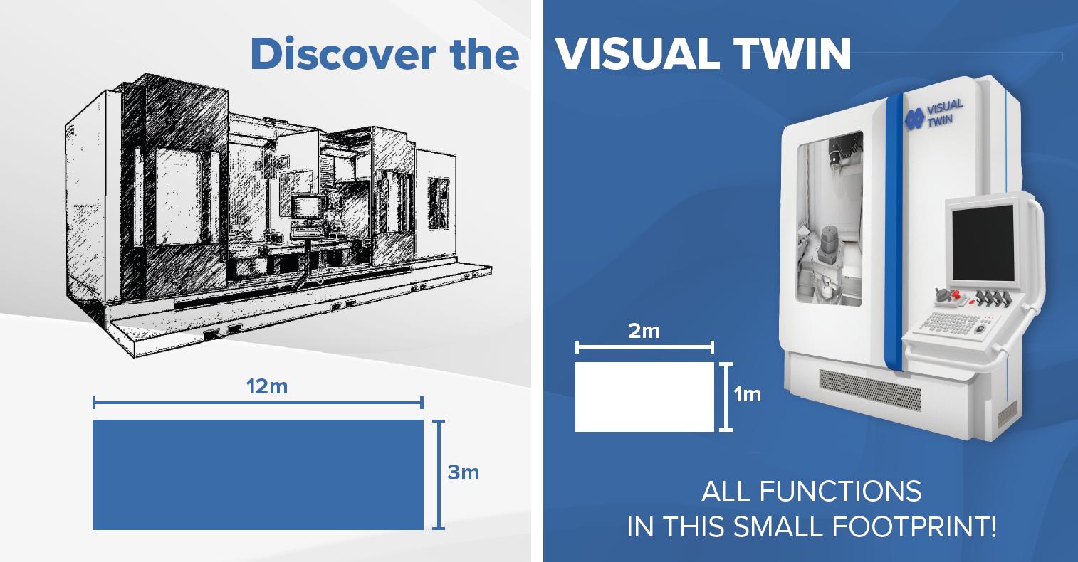 Visual Twin footprint